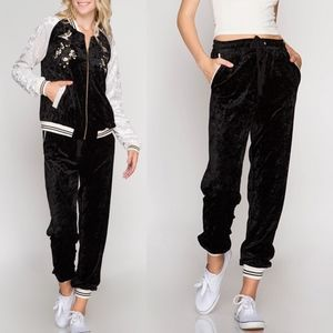 "SADIE ""Crush"" Jogger - BLACK"